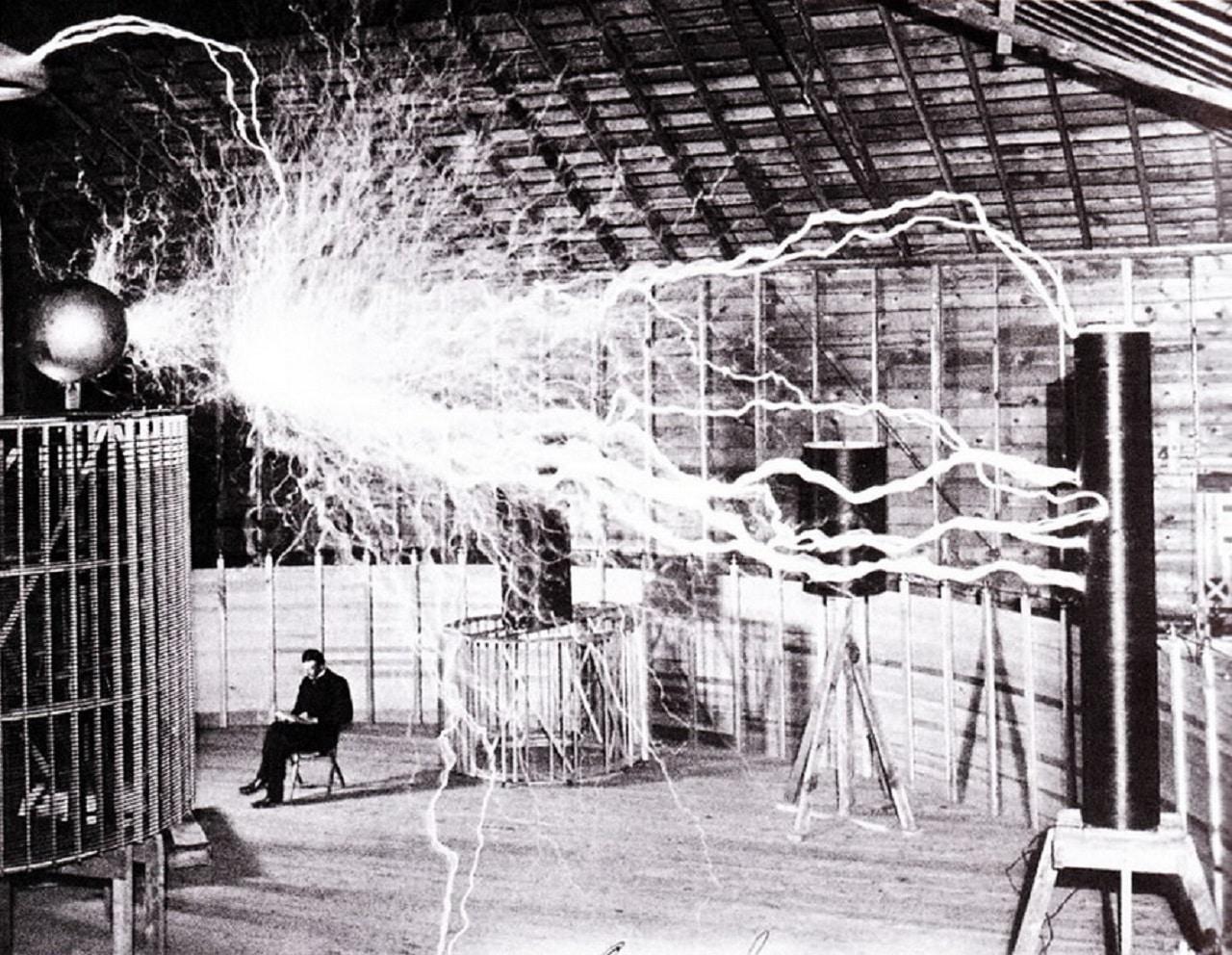 Laboratorio de Nikola Tesla