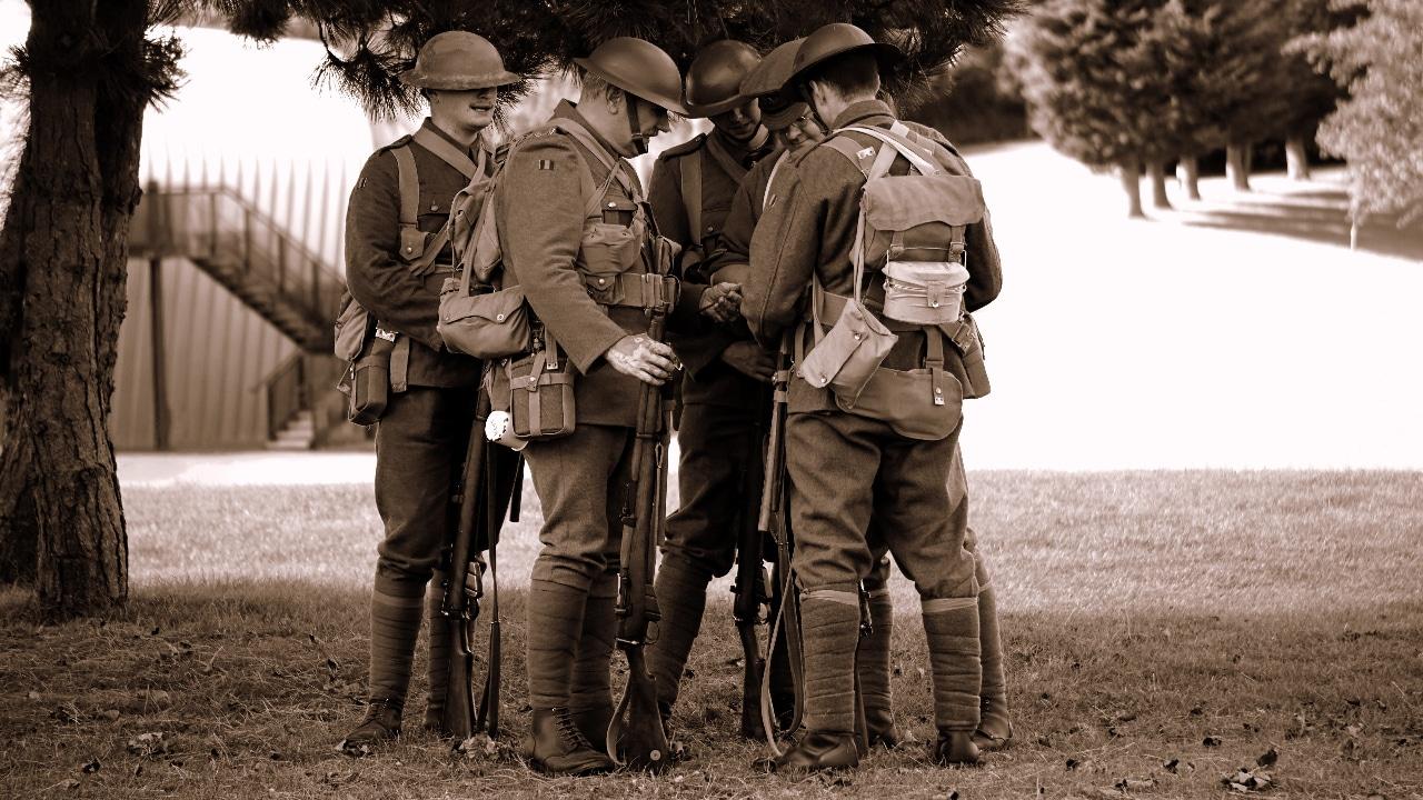 Soldados Primera Guerra Mundial